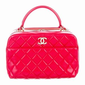 Authentic Chanel Trendy CC Top Handle Shoulder Bag